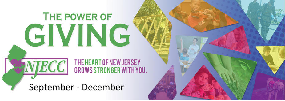 The power of giving, the heart of New Jersey grows strongest within you