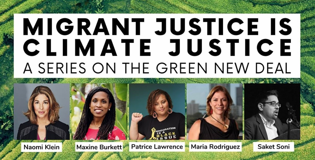 Guest Speaker Panel for Green New Deal Series