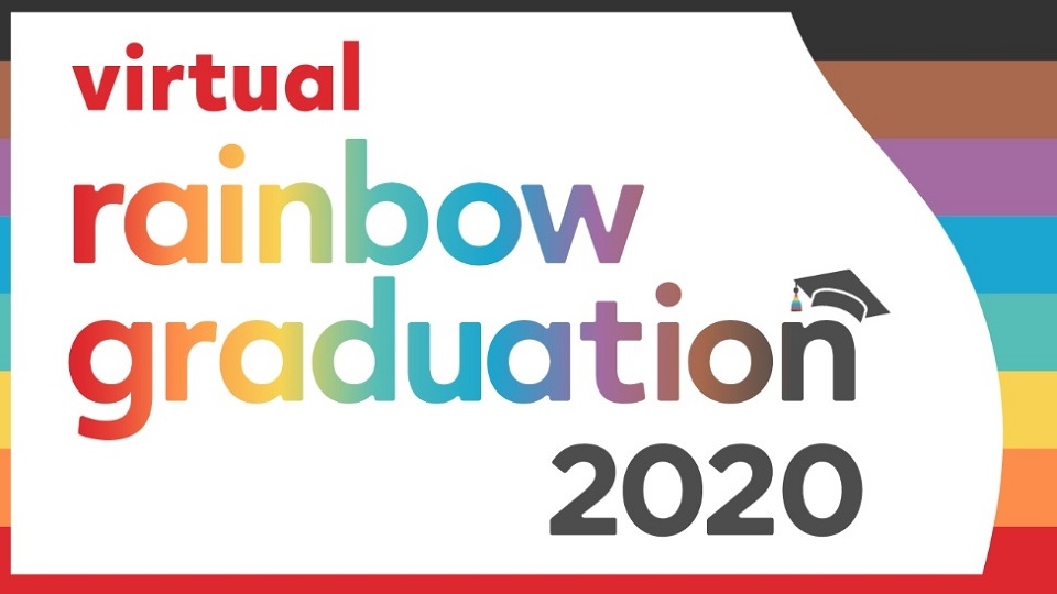 Virtual Rainbow Graduation 2020 Invitation